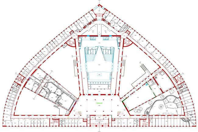 haus des rundfunks rbb h bner oehmig architektur. Black Bedroom Furniture Sets. Home Design Ideas
